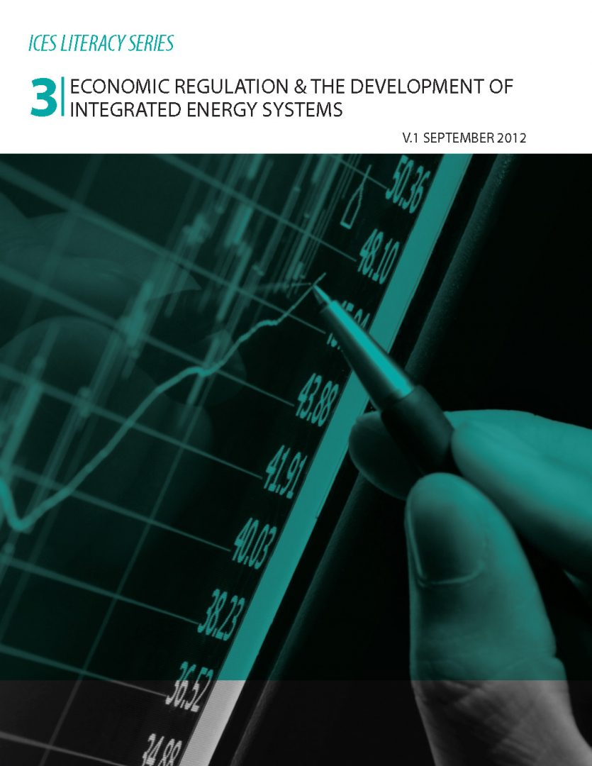 Paper No. 3 Economic Regulation and the Development of Integrated Energy Systems