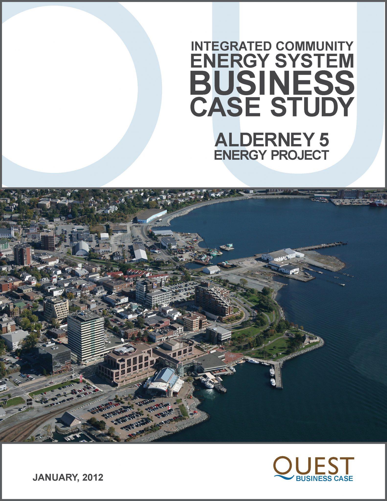 Alderney 5 Energy Project