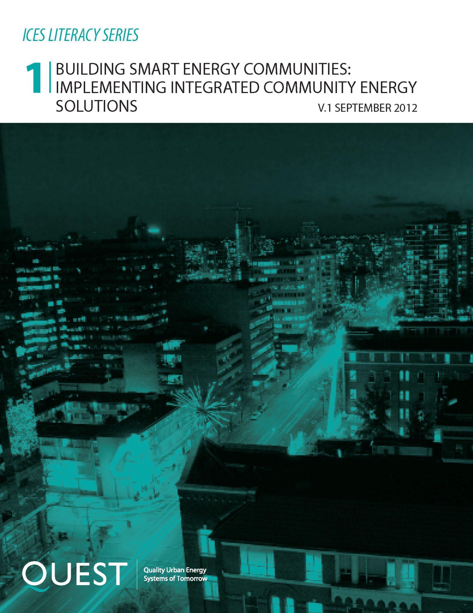 Paper No. 1 Building Smart Energy Communities