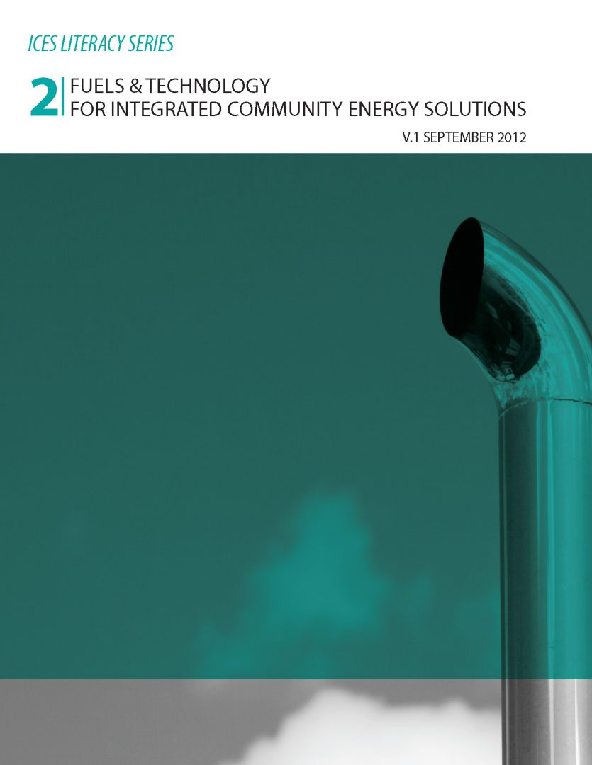 Paper No. 2 Fuels & Technology for Integrated Community Energy Solutions