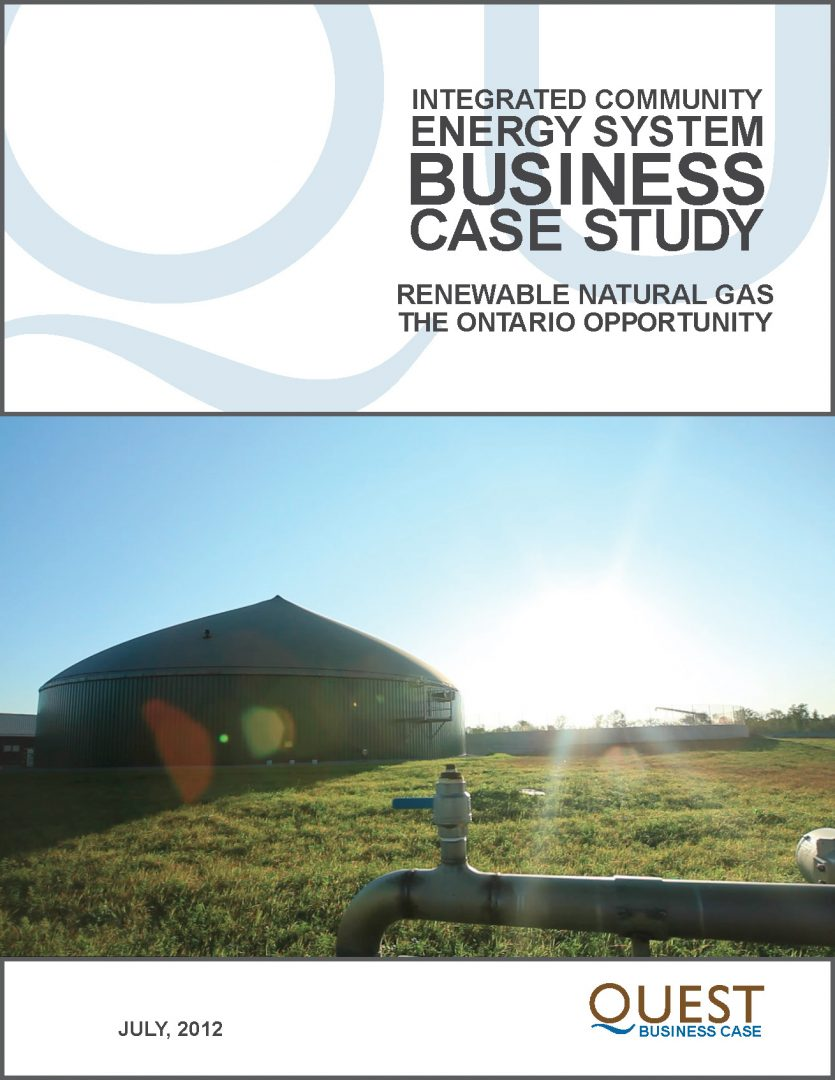 Renewable Natural Gas: The Ontario Opportunity