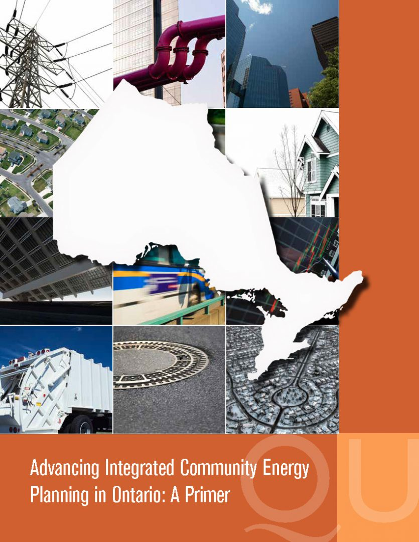 Advancing Integrated Community Energy Planning in Ontario: A Primer