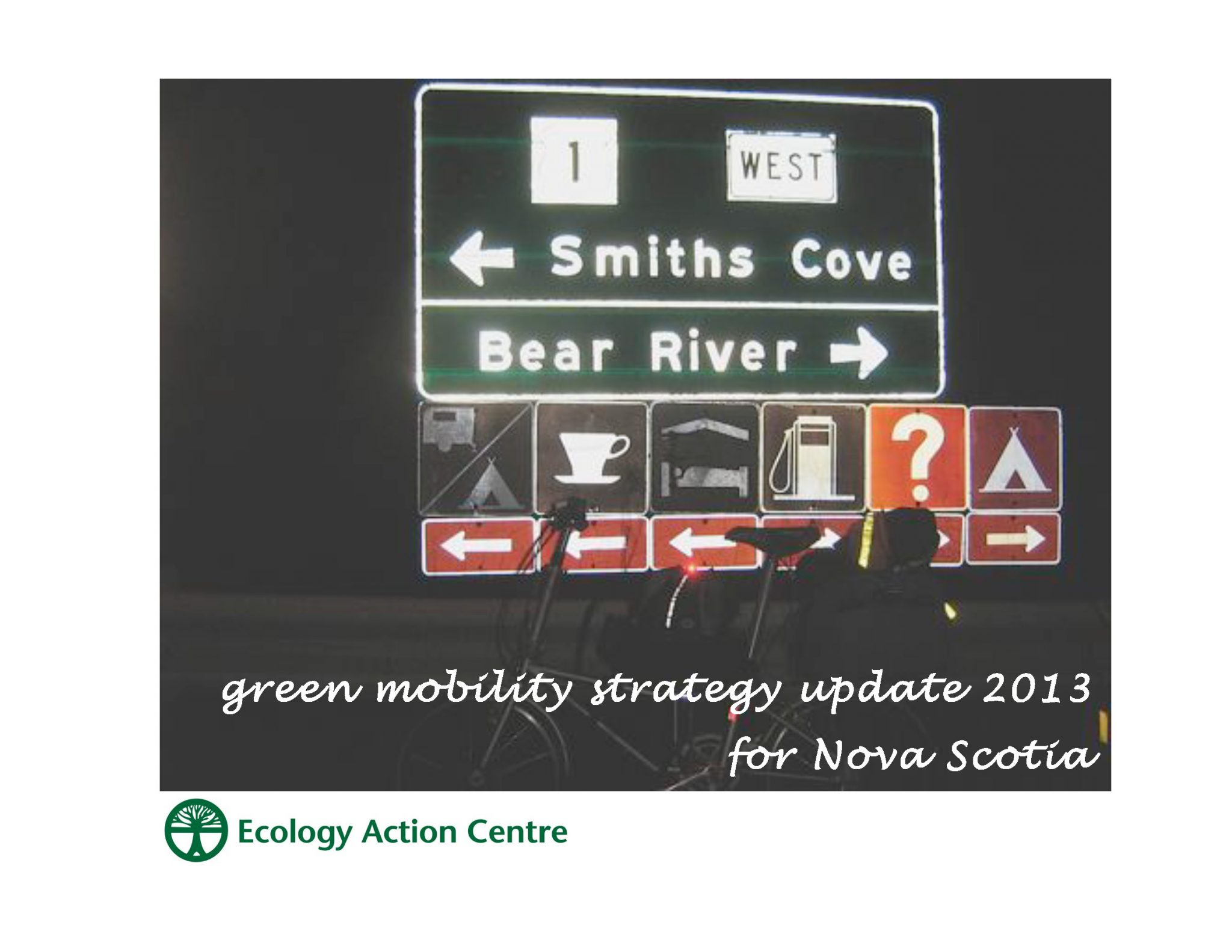 NS Sustainable Transportation Series: Green Mobility Strategy Update 2013