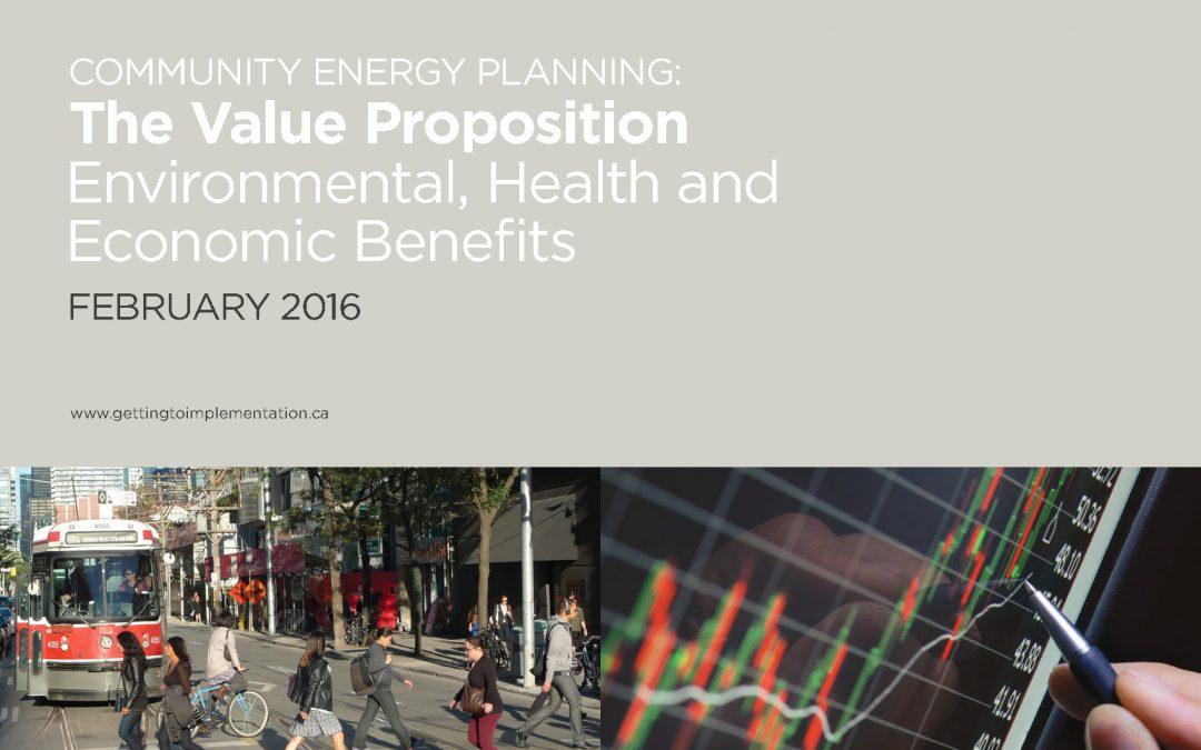 Community Energy Planning: The Value Proposition