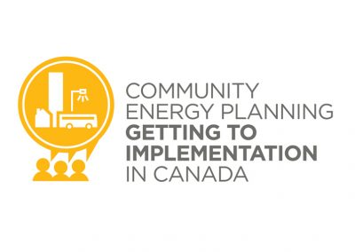 Enabling Community Energy Plan Implementation in New Brunswick