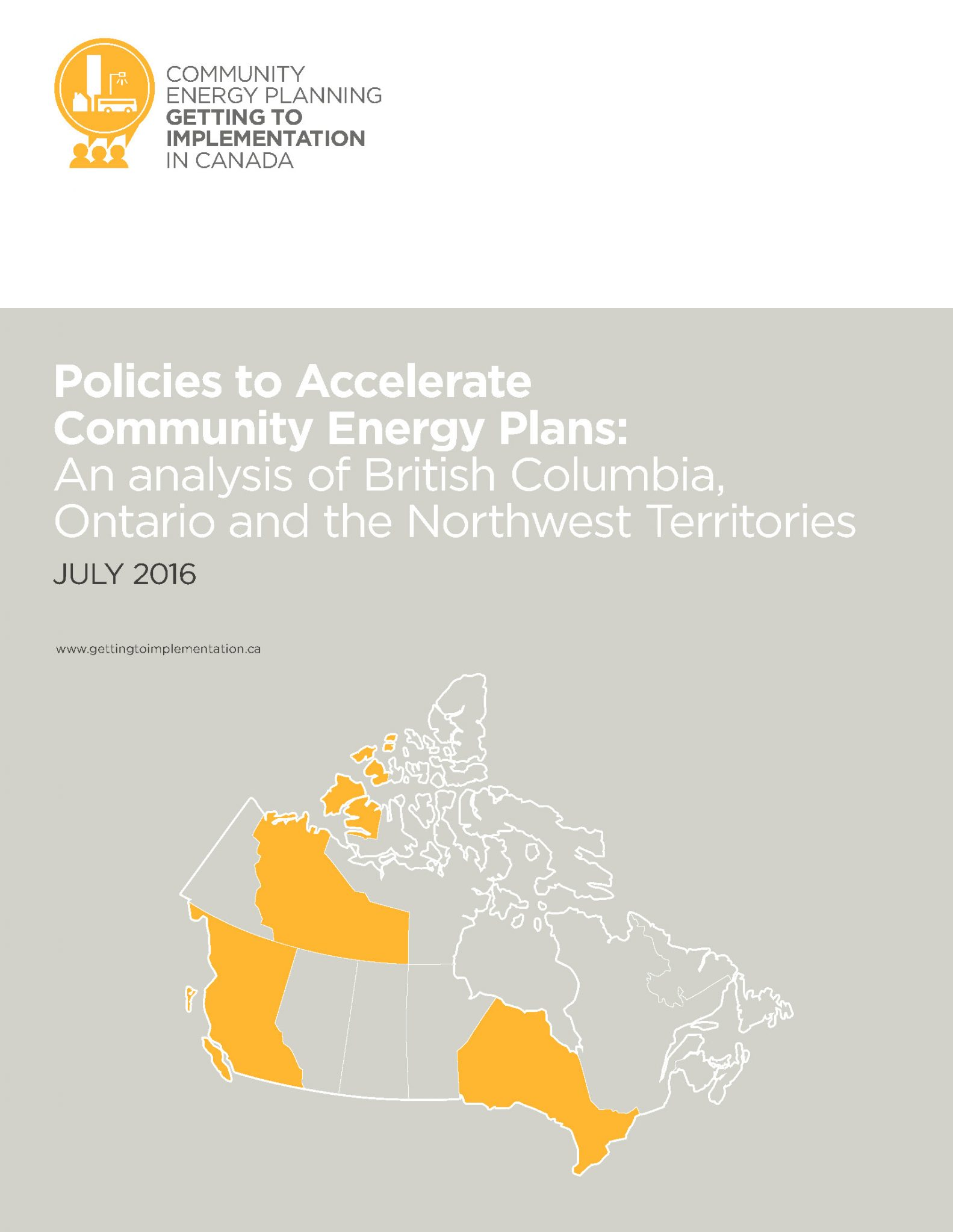 Policies to Accelerate Community Energy Plans