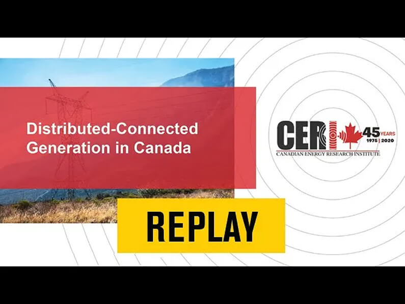 Distributed-Connected Generation in Canada ft. CERI for DER Working Group