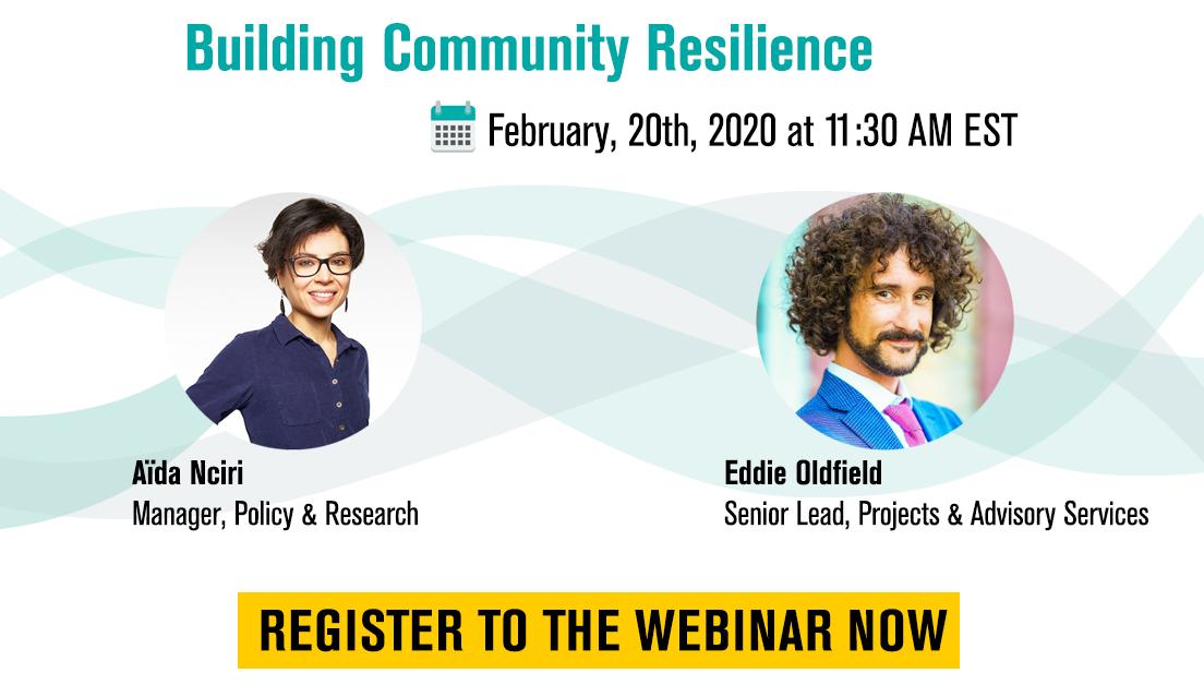 Webinar: Building Community Resilience