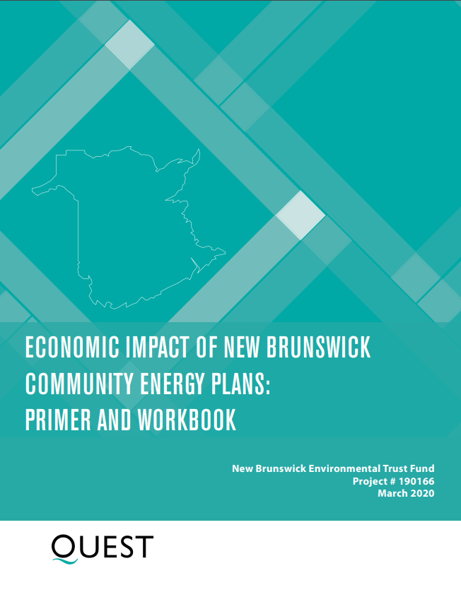 Economic Impact of New Brunswick Community Energy Plans
