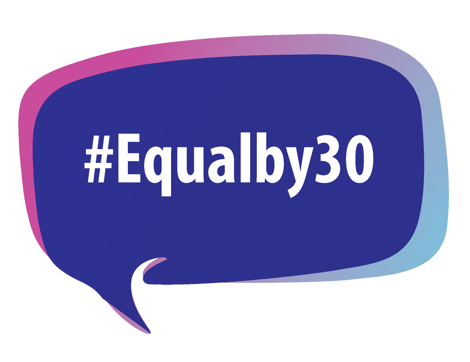 Equal by 30 Logo