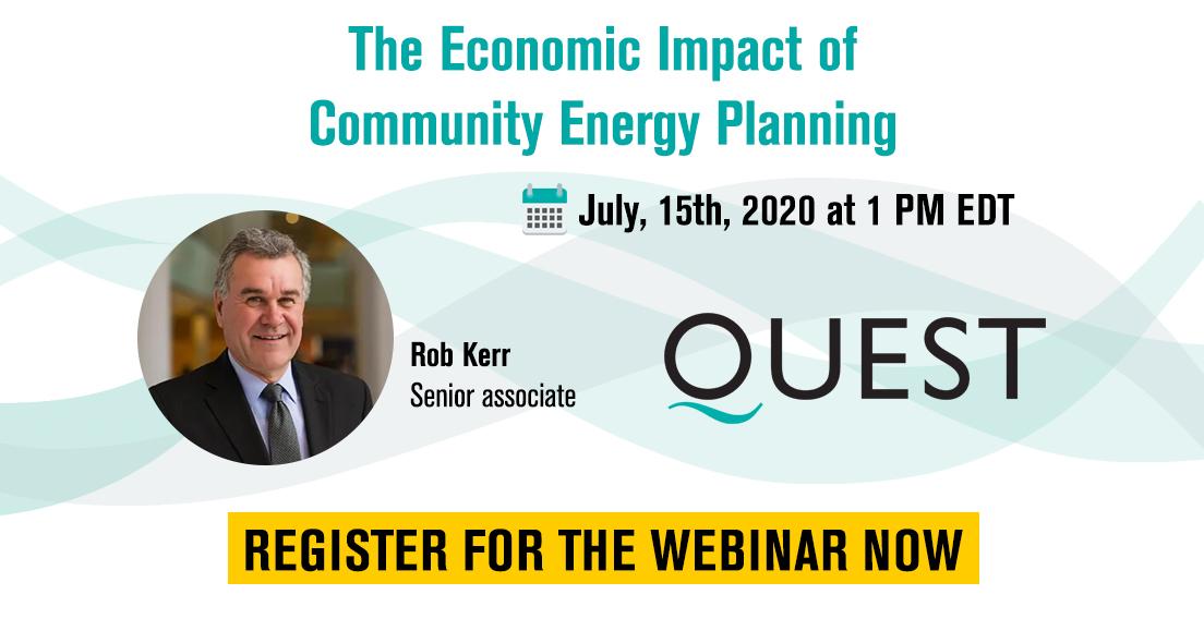 Webinar: The Economic Impact of Community Energy Plans