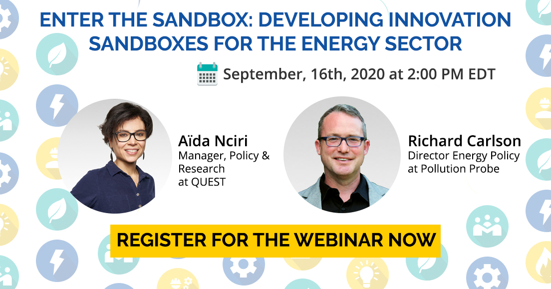 webinar: Enter the Sandbox: Developing Innovation Sandboxes for the Energy Sector