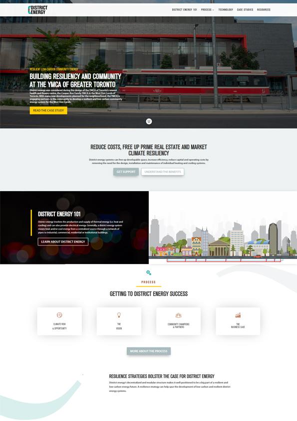 District Energy Website
