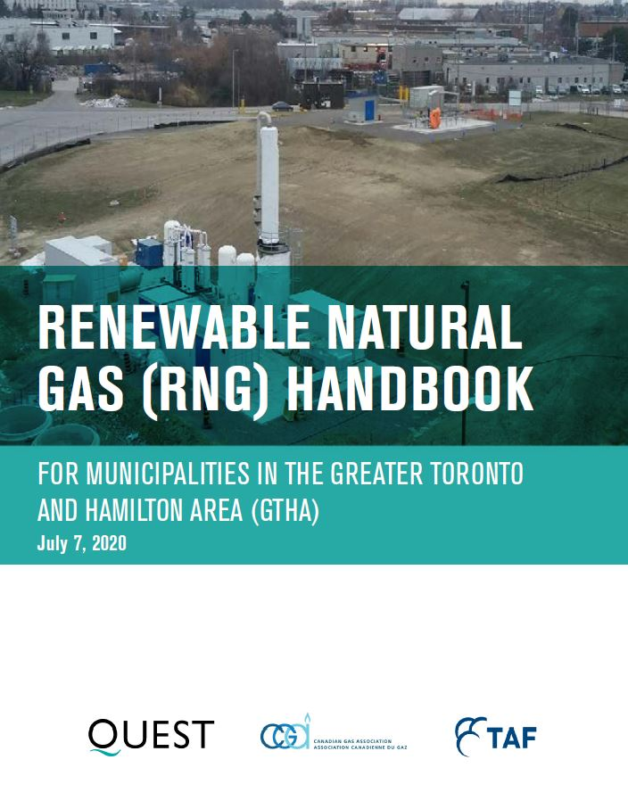 Renewable Natural Gas (RNG) Handbook for GTHA