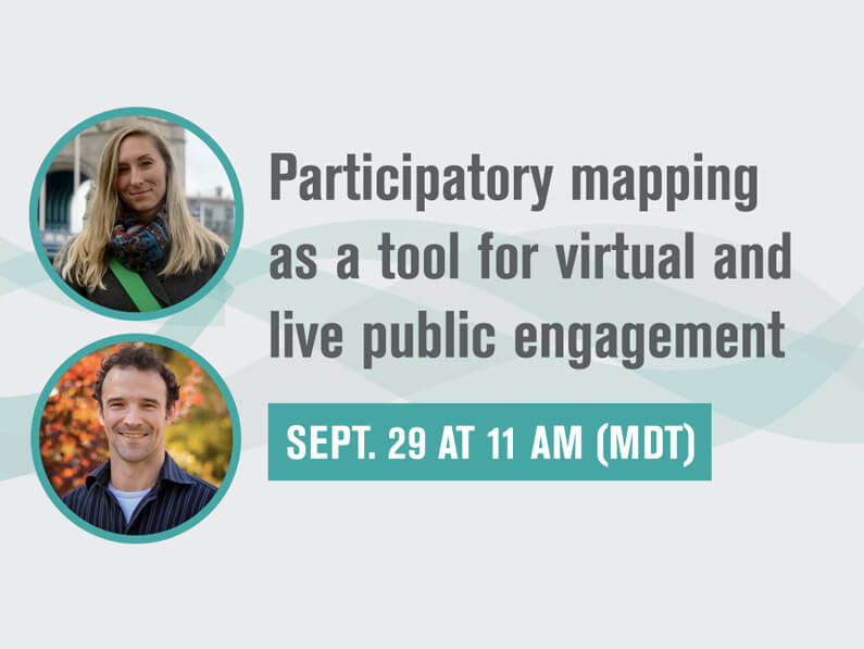 AIRE Webinar Part 1: Participatory mapping as a tool for virtual and live public engagement