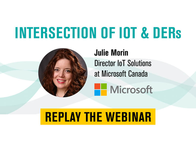 Intersection of IoT and Distributed Energy Resources (DERs) ft. Microsoft