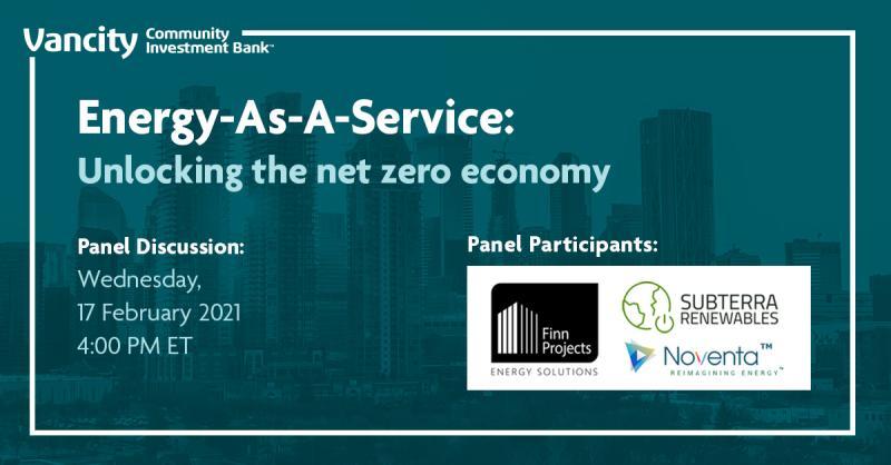 Energy As A Service – Unlocking the net-zero economy
