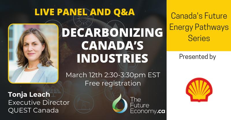 live panel Canada's Future Energy Pathways
